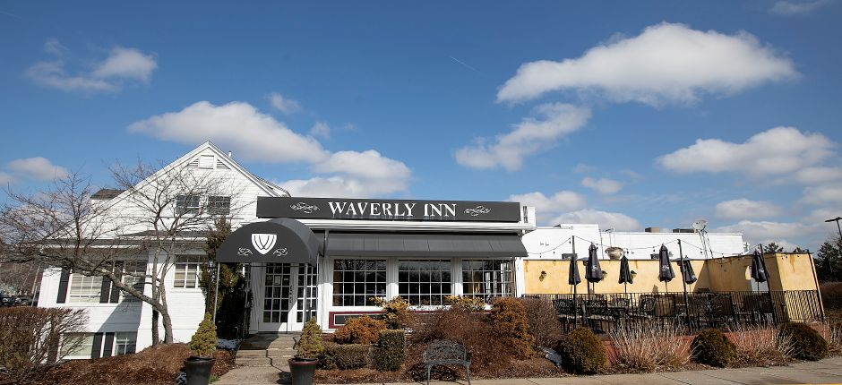 Exterior of the Waverly Inn.