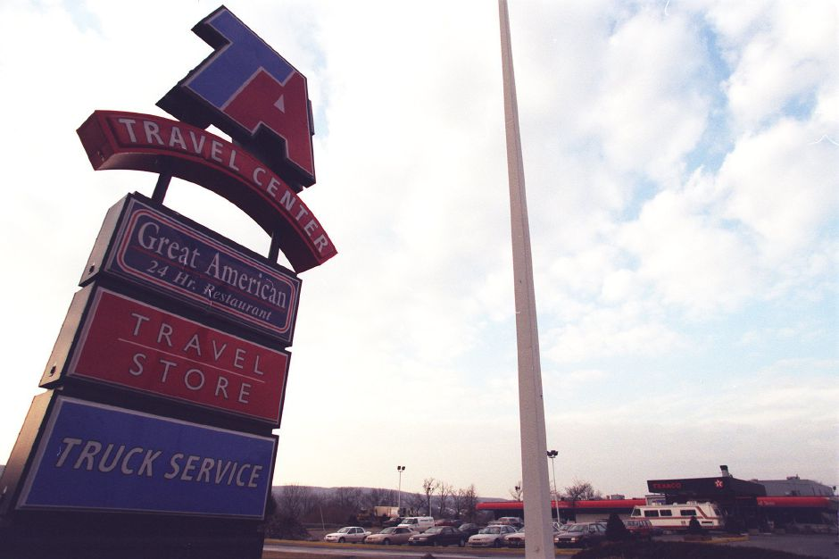 TA Travel Center on Meriden-Waterbury Turnpike in Southington. File photo from Feb. 16, 2000.