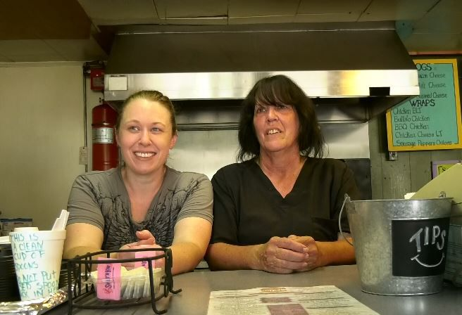 From left, Sara Kenny, manager, and her mom Karen Chasse, owner of Sara J