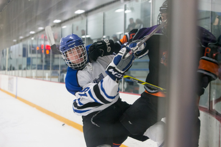 The Hall-Southington hockey team had never reached the state semifinals in their co-op history. That changed with Thursday night