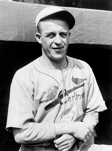 "James L. ""Sunny Jim"" Bottomley, first baseman for the St. Louis Cardinals, is shown on Sept. 21, 1928. (AP Photo)"