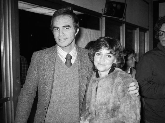 "FILE - In this Dec. 23, 1978 file photo, Burt Reynolds and Sally Field attend the off-Broadway play ""Buried Child"