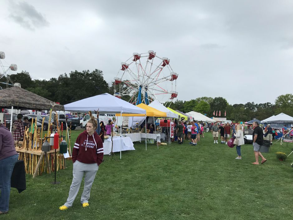 The Cheshire Fall Festival is an opportunity for town residents to eat good food, listen to music, go on rides, and check out the offerings of local vendors.