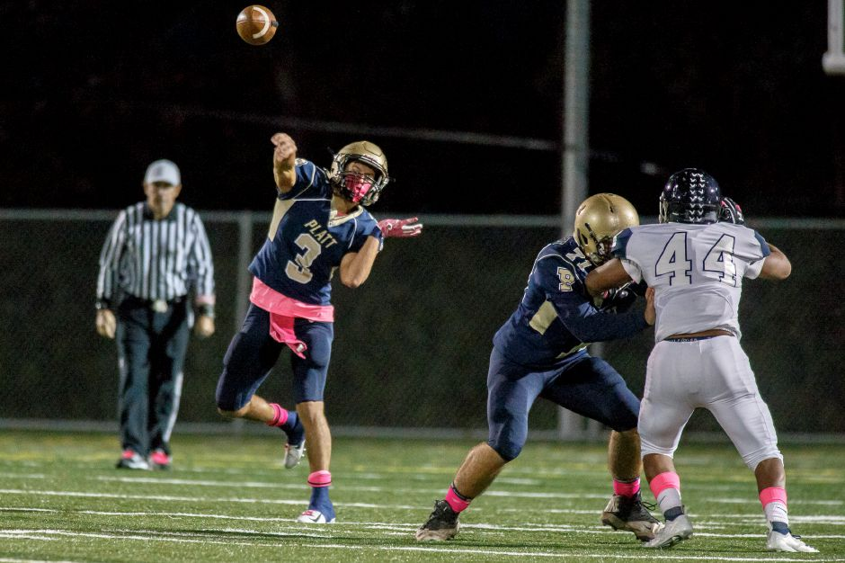 To keep Class L playoff hopes alive, Lorenzo Sanson and the Platt Panthers must defeat unbeaten Middletown on Thursday night at Falcon Field. Kickoff is 6:30 p.m.