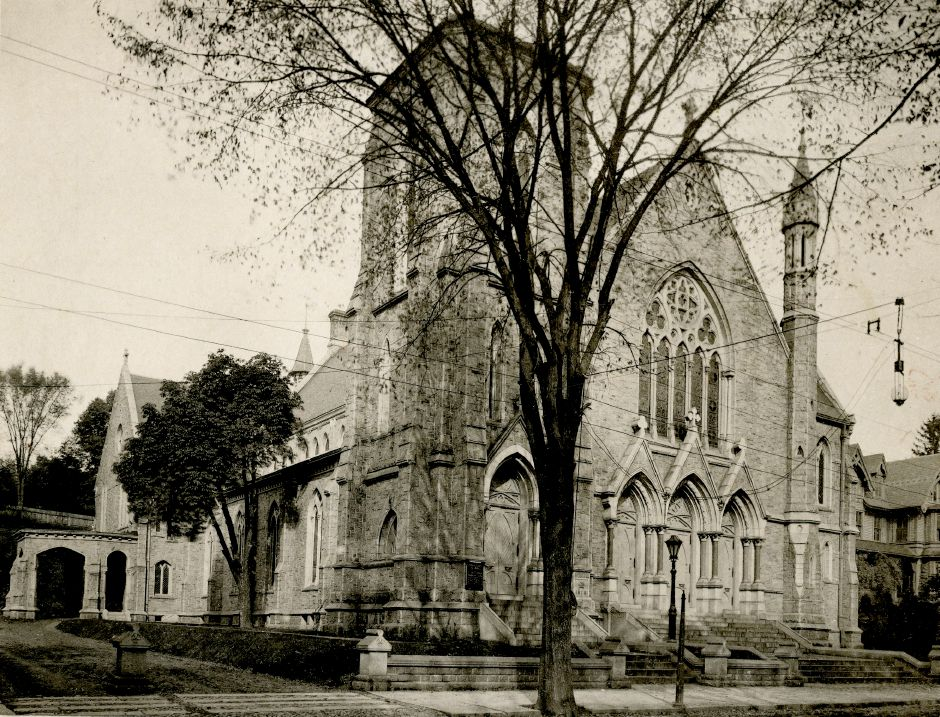 File photo - Meriden First Congregational Church, 1890s.