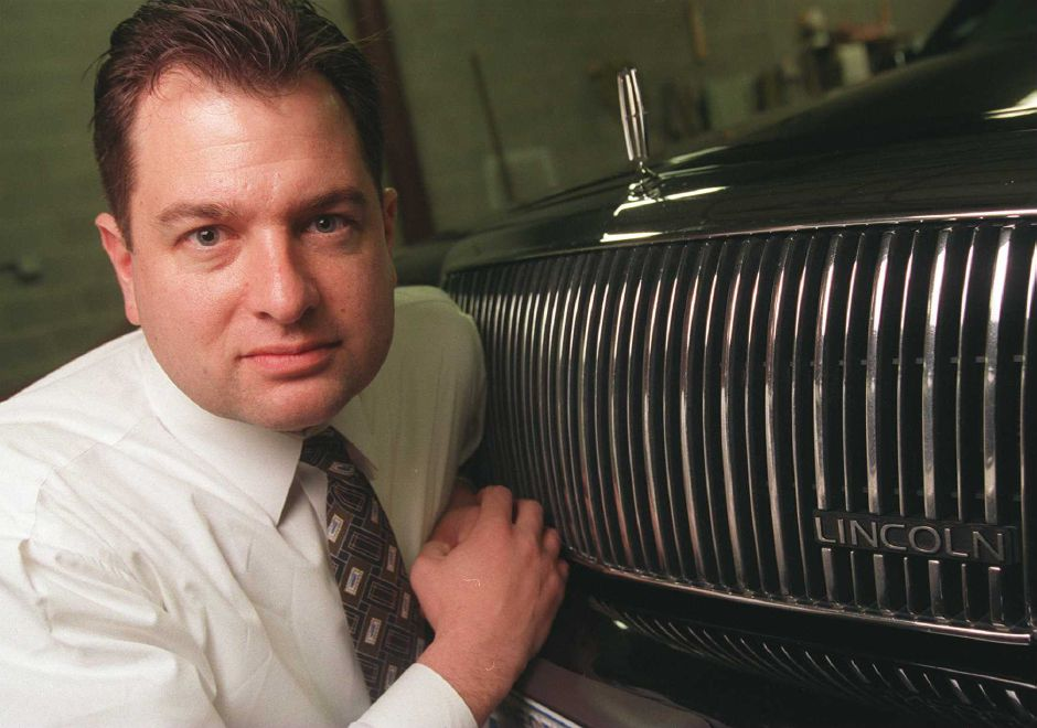 RJ file photo - Jeffrey A. Juaire is the president of Compass Limousine in Wallingford, March 1999.