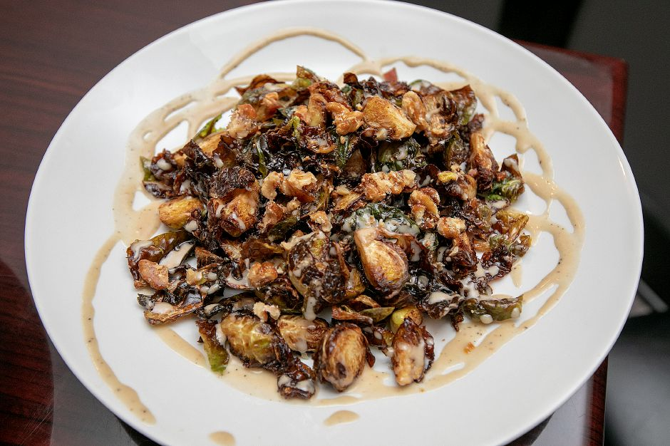 Brussels sprouts on the menu at Amici Tavern, 43 Broadway, North Haven, Wed. Feb. 6, 2019. Dave Zajac, Record-Journal