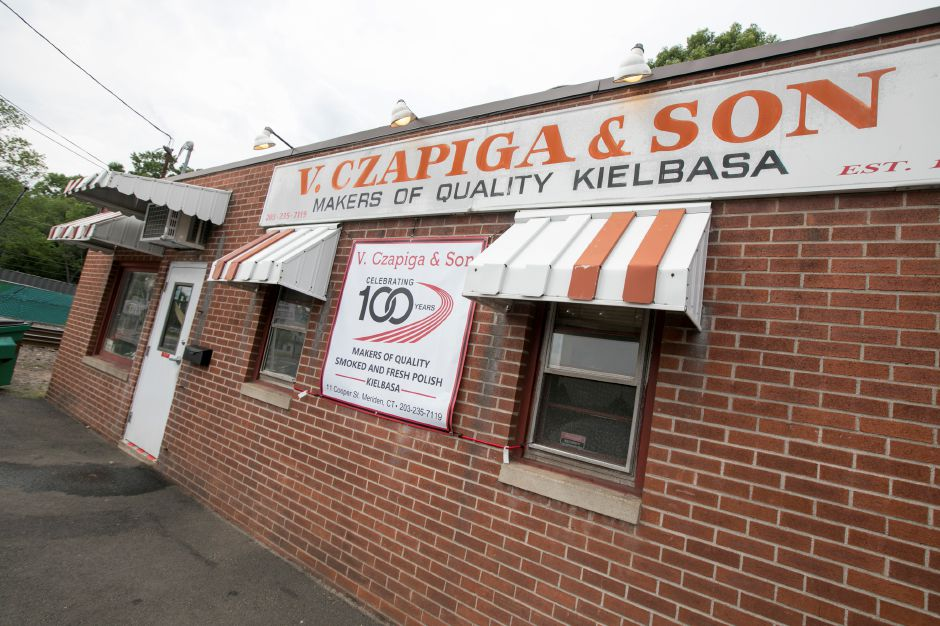 V. Czapiga & Son in Meriden, Friday, June 22, 2018. The business is celebrating 100 years. Dave Zajac, Record-Journal