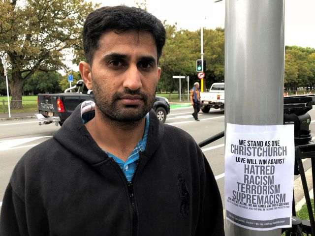 Yasir Amin, 35-year-old, describes his run-in with the gunman in Friday