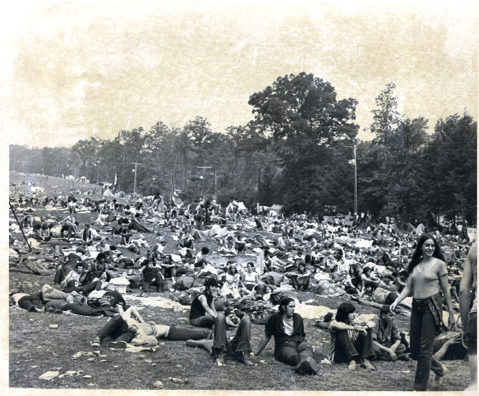 Promoters envisioned the Powder Ridge Rock Festival as a follow-up to Woodstock one year earlier.