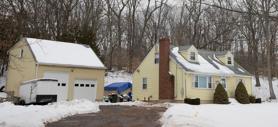 A house at 1444 N. Broad St. in Meriden, Thursday, Jan. 11, 2018. The Carabetta Companies is seeking a zone change to allow it to build several apartments in this area of North Broad Street. Dave Zajac, Record-Journal