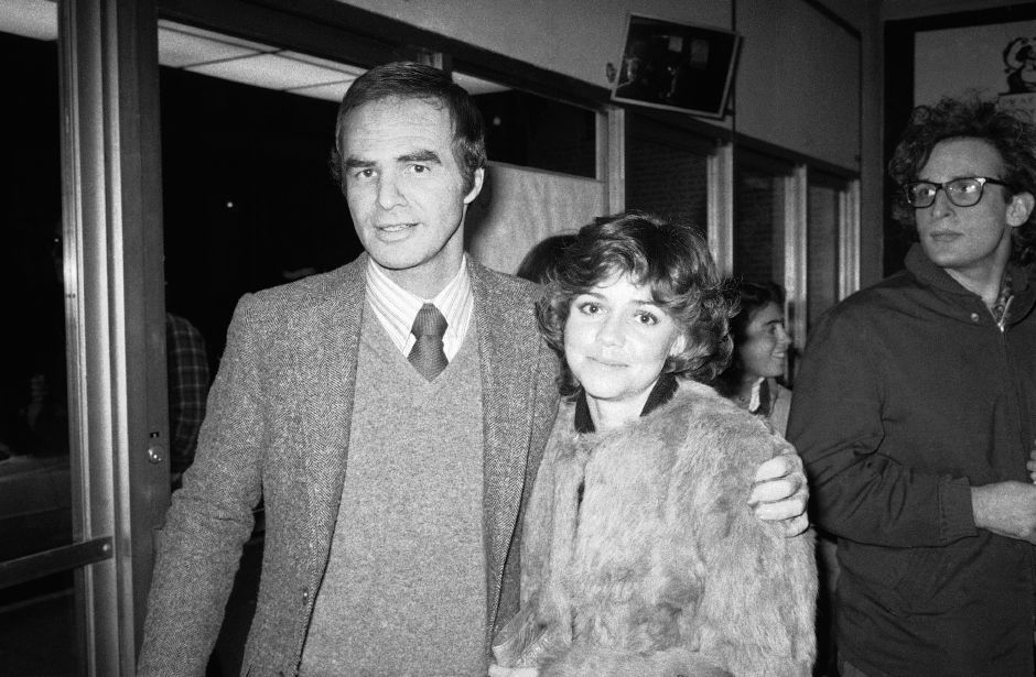 "Burt Reynolds and Sally Field attend the off-Broadway play ""Buried Child"" Saturday, Dec. 23, 1978 in New York's Greenwich Village. (AP Photo/Perez)"