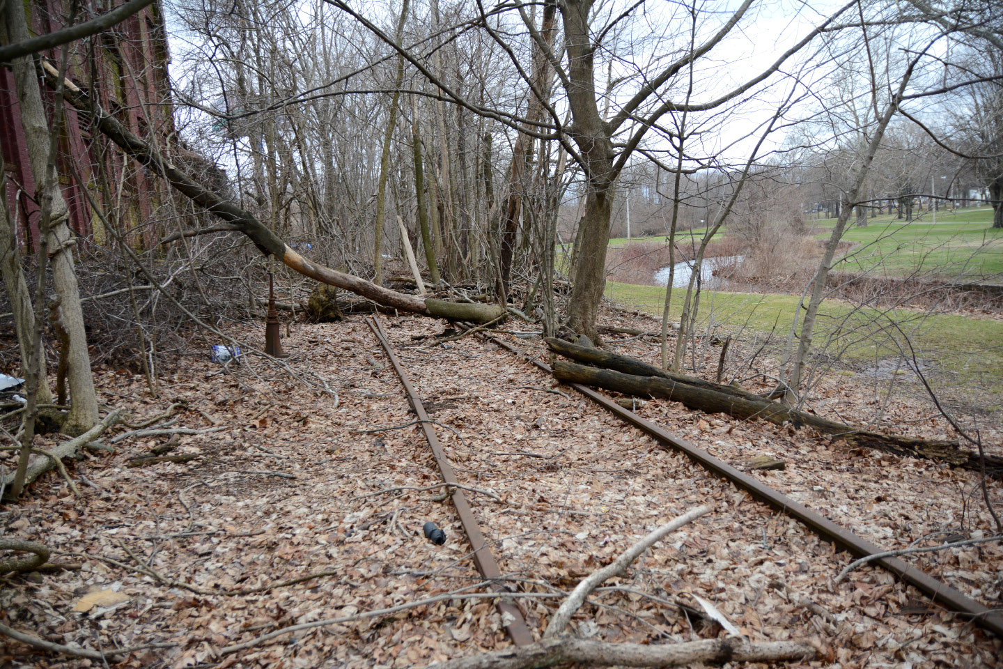 meriden u2014 city officials say the former rail line near brookside park