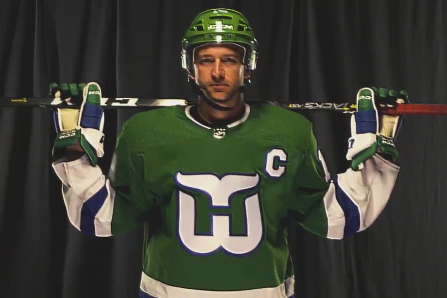 Hurricanes to bring back Hartford Whalers uniforms for 2 games against  Bruins f7ce3c9bb
