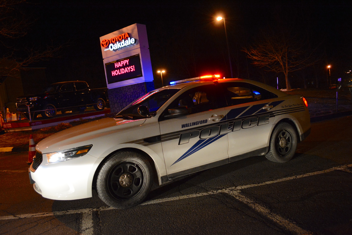 Four people were shot and two were killed following a concert at the Oakdale Theatre in Wallingford on Friday, Dec. 30. | Bryan Lipiner, Record-Journal