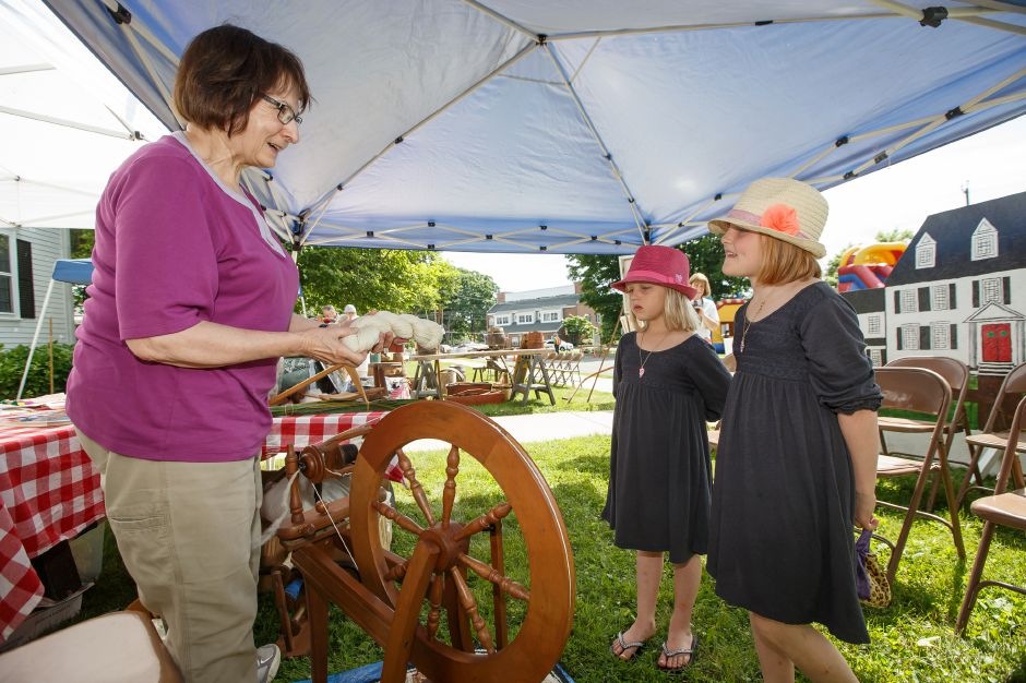Saturday during the 81st Annual Cheshire Strawberry Festival and Craft Fair on the Town Green in Cheshire May 31, 2016 | Justin Weekes / Special to the Record-Journal