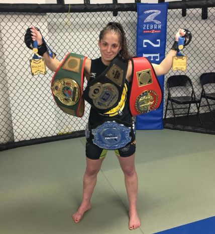 After rolling up a 4-1 record as an amateur mixed martial arts fighter, Marissa Messer-Belenchia is now undefeated as a professional. The road has not been an easy one, however.