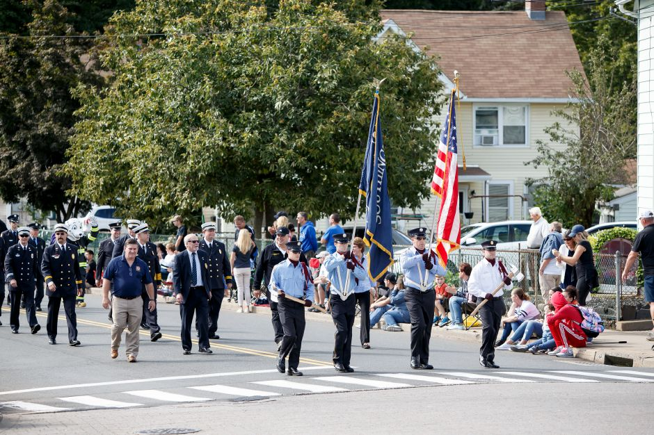 Southington Fire Department Sunday during the Southington Apple Harvest Festival Parade in Southington September 30, 2018 | Justin Weekes / Special to the Record-Journal