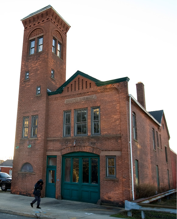 FILE PHOTO: The historic firehouse at 105 Hanover St. in Meriden, Monday, Jan. 4, 2016. Harry Schwartz also known as