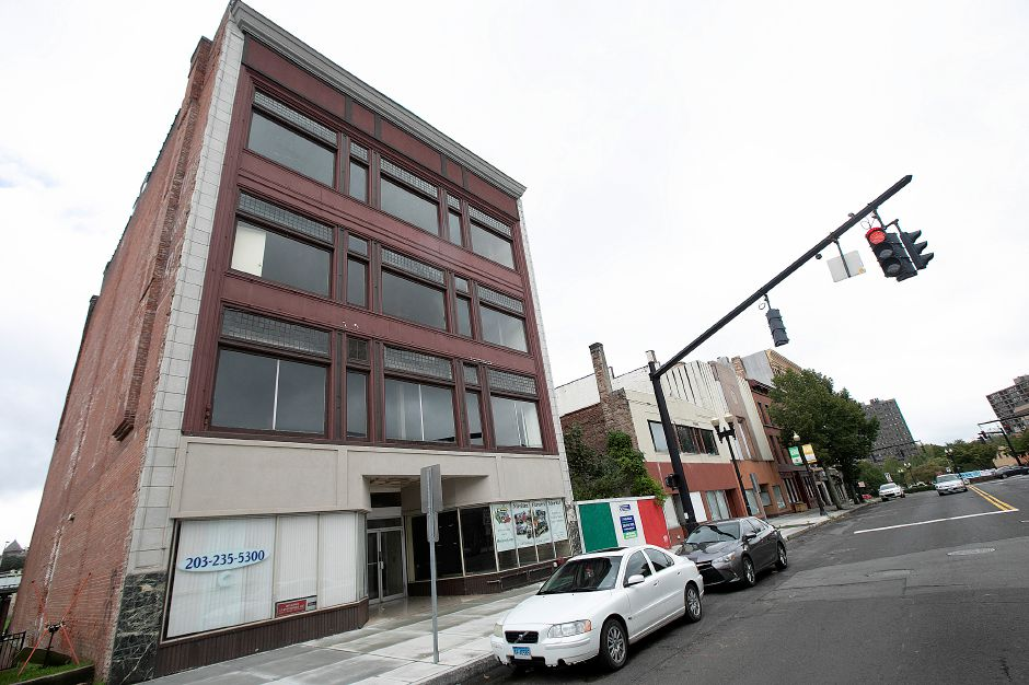 Maynard Road will insulate and add windows to the building at 21-23 Colony St. in Meriden, making it eligible for energy tax credit money that will help the structure's owner close a $1 million funding gap. Dave Zajac, Record-Journal