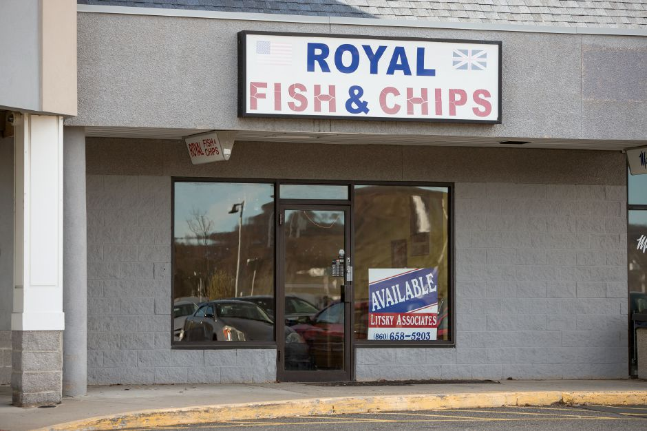Royal Fish and Chips recently closed on East Main Street in Meriden.