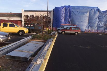 This is the location of two new stores moving into Townline Plaza in Meriden.
