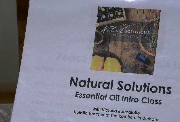 Essential oil classes and resources available at The Red Barn in Durham, 352 Main St., Durham. |Ashley Kus, Record-Journal