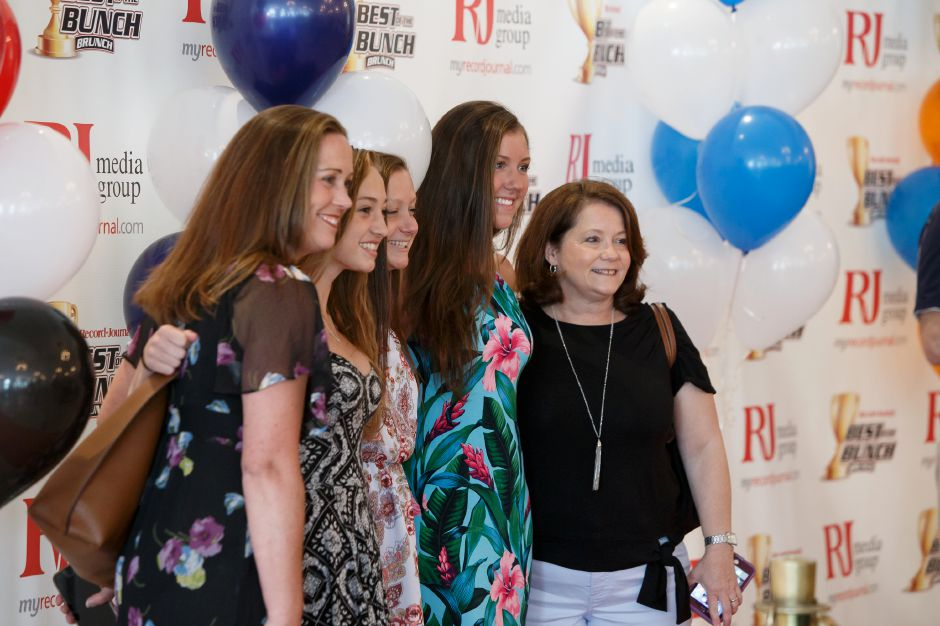 Athletes and families were given the red carpet treatment Sunday during the third annual Record-Journal Best of the Bunch Brunch Awards at the Aqua Turf Club in Plantsville June 24, 2018 | Justin Weekes / Special to the Record-Journal