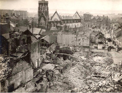 Destruction of Swansea, Wales