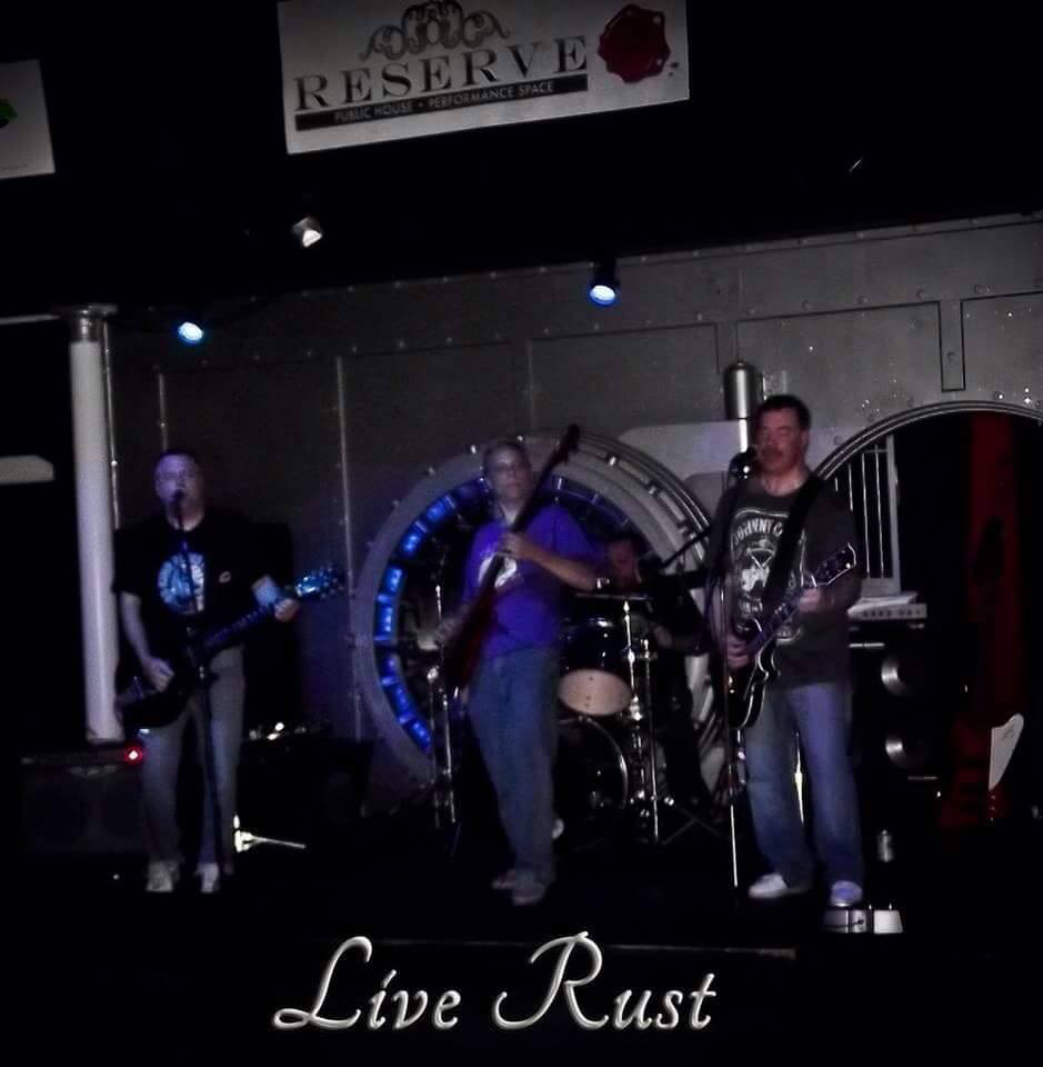 LiveRust will be playing at the Meriden Green on July 22. | Photo courtesy of Live Rust