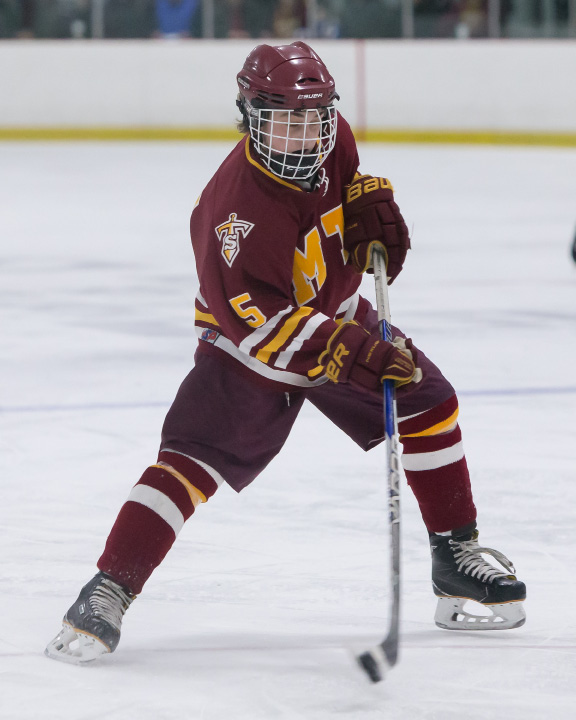 Jake Festa scored the first two goals for Sheehan in Monday