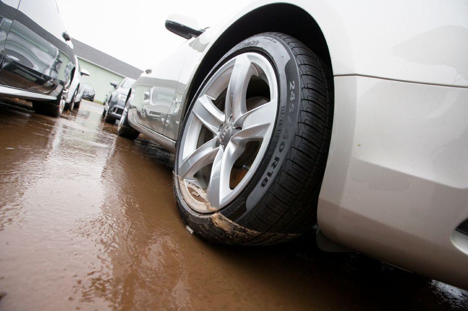 Over Two Dozen Cars At Audi Dealer In Wallingford Damaged After Crash - Audi wallingford