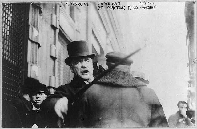 J.P. Morgan, striking a photographer with his cane.lov.gov