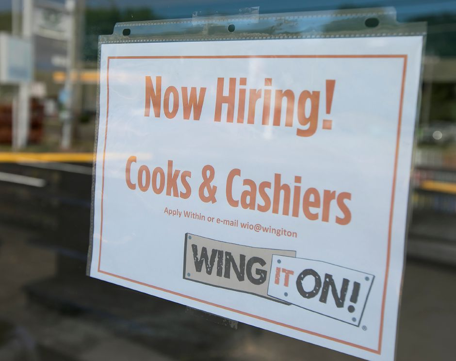 Wing It On! now hiring cooks and cashiers for their new location at 68 N. Turnpike Rd. in Wallingford, Thursday, July 12, 2018. Dave Zajac, Record-Journal