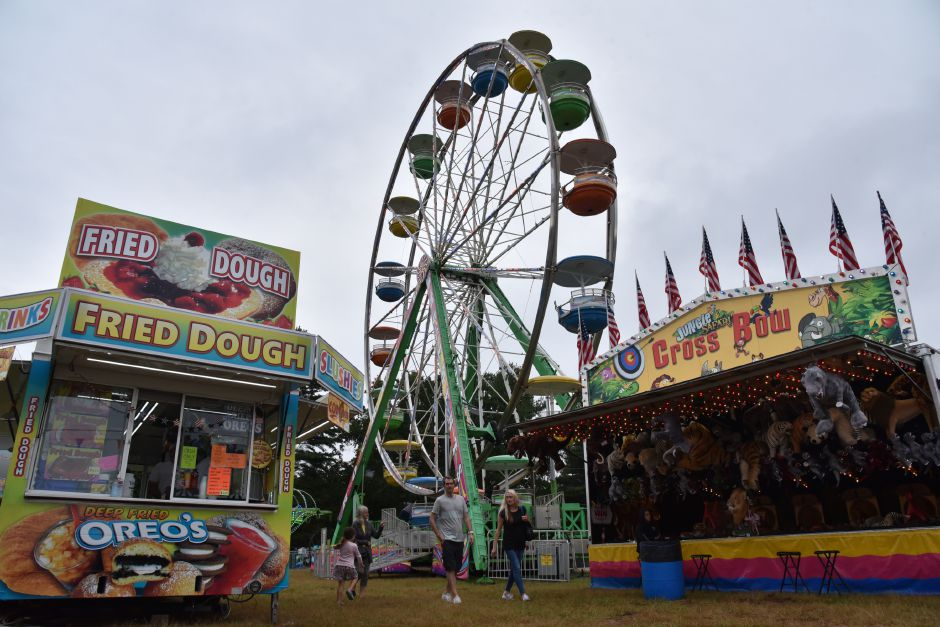 The 76th annual North Haven Fair was held Sept. 6 through 9 this year at the fairgrounds on Washington Avenue. Visitors could visit livestock on exhibit, as well as competition foods and crafts, food trucks and amusement rides. | Bailey Wright, Record-Journal| Bailey Wright, Record-Journal