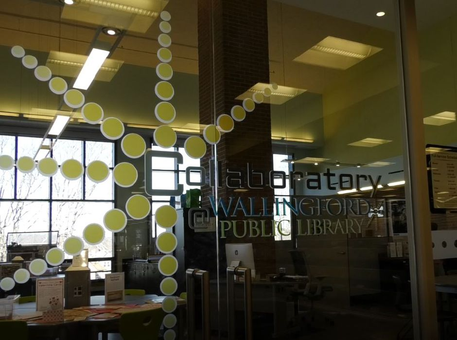 The Collaboratory at Wallingford Public Library, 200 North Main St., Wallingford. | Ashley Kus, Record-Journal