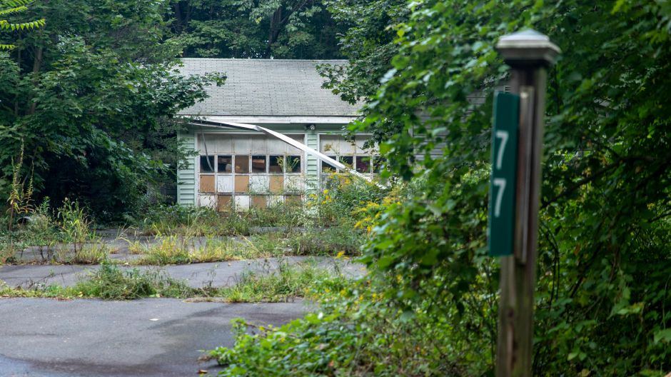 A court decision cleared the way for the town to clean up a blighted property at 77 Elton Road. The home has been vacant for years. Devin Leith-Yessian, The Citizen