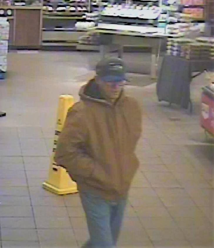 The suspect in a robbery at People's United Bank inside Stop & Shop on Farmington Avenue. | Courtesy of Berlin police