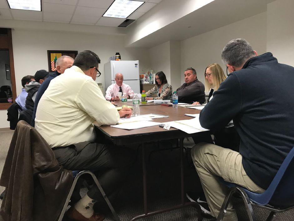 Berlin golf commission holds its first meeting. | Ashley Kus, The Citizen