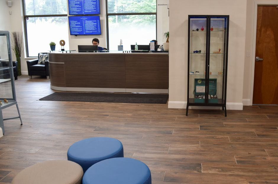 Willow Brook Wellness Center, a medical marijuana dispensary on East Main Street in Meriden, on June 13, 2019. | Bailey Wright, Record-Journal