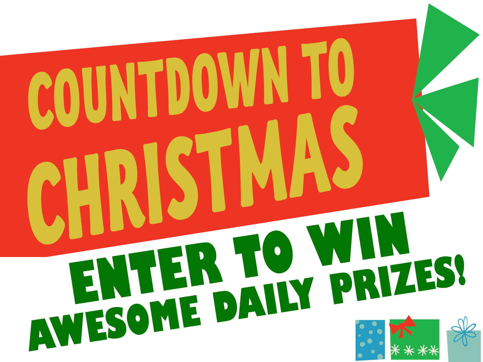 Enter to win awesome daily prizes!