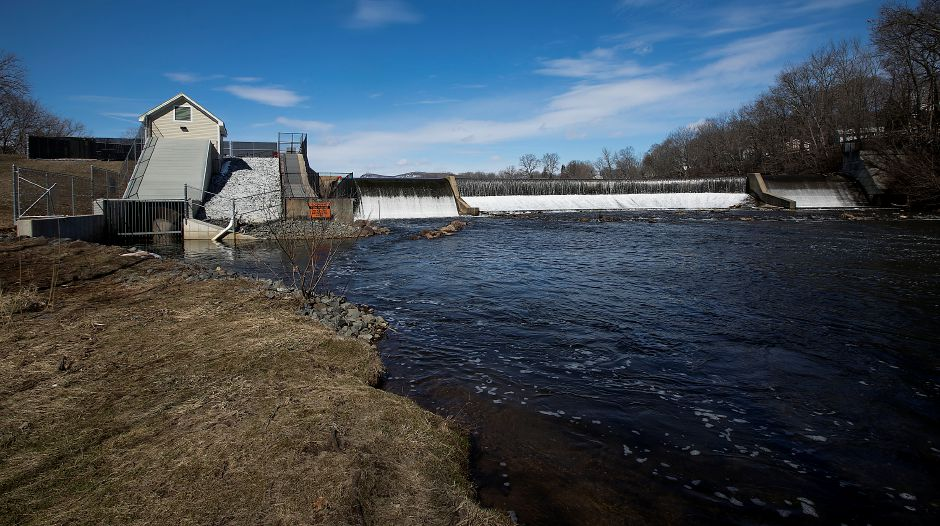 The Archimedes screw at Hanover Dam is out of commission. Dave Zajac, Record-Journal