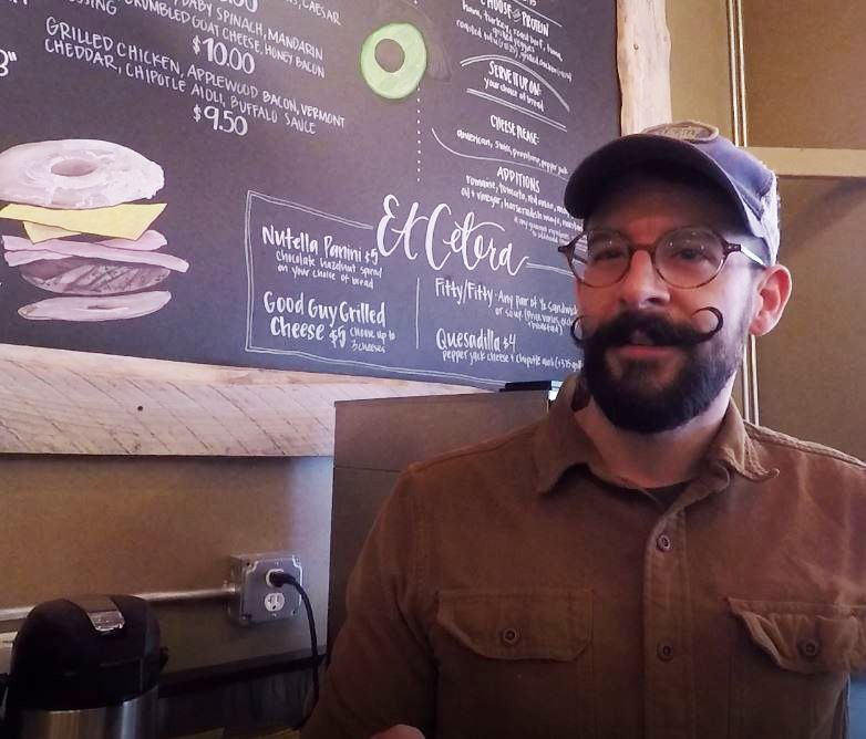 Jon Masella, owner, talks about upcoming menu items including an Irish-themed one at The Eatery, 65 South Colony St., Wallingford, Wednesday, Feb. 20, 2019. |Ashley Kus, Record-Journal