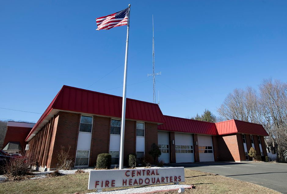 Wallingford Central Fire Headquarters, Thursday, Jan. 25, 2018. Dave Zajac, Record-Journal