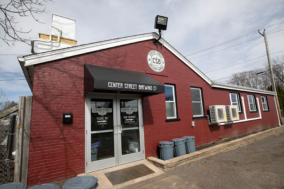 Center Street Brewing Company, 24 Wallace Ave., Wallingford, Mon., Mar. 25, 2019. The new business opens Saturday at noon. Dave Zajac, Record-Journal