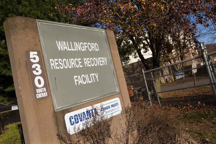 The Wallingford Resource Recovery Facility in Wallingford.  | Dave Zajac, Record-Journal