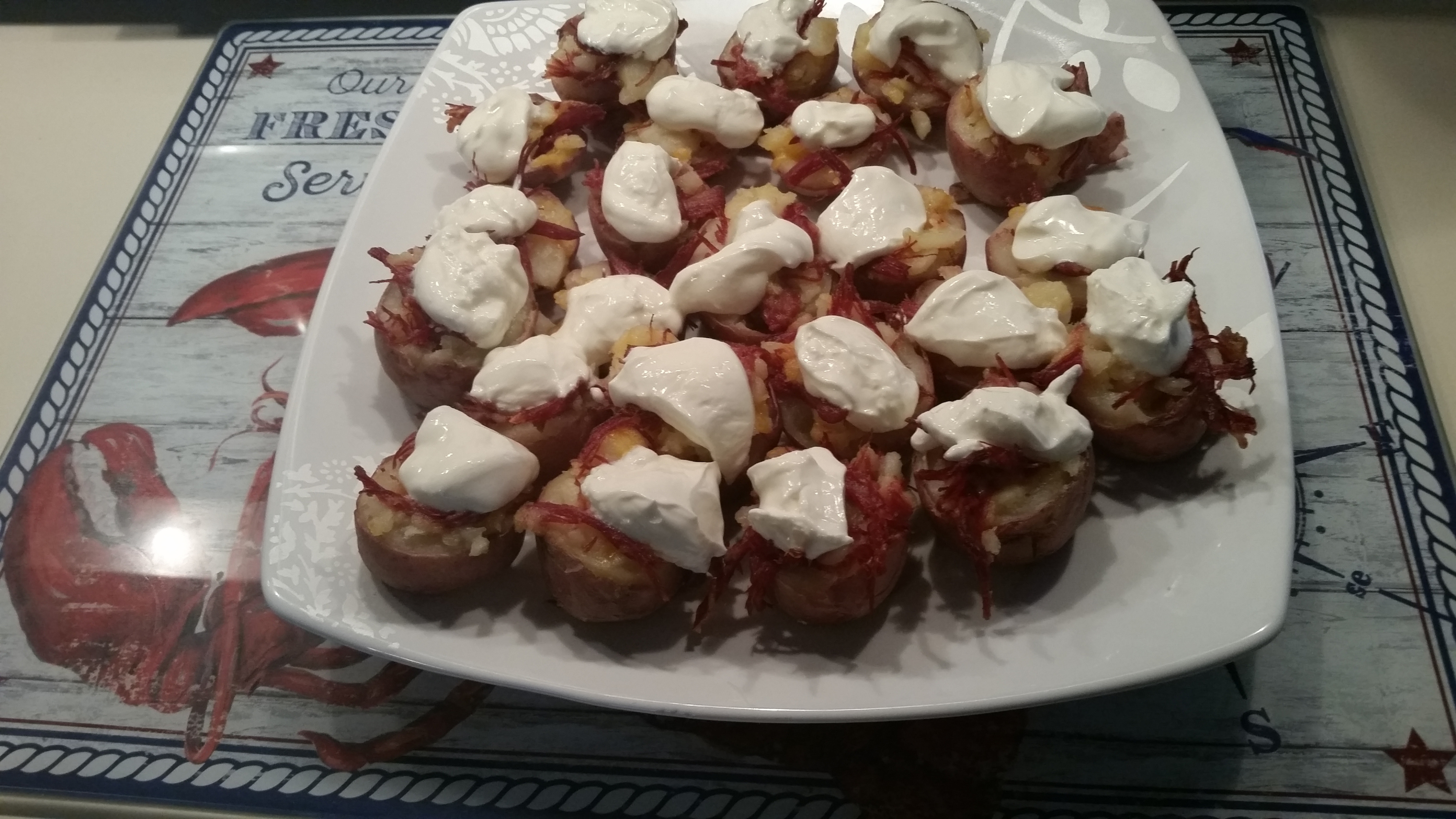 Potato corned beef bites (Lauren Sievert |Record-Journal)