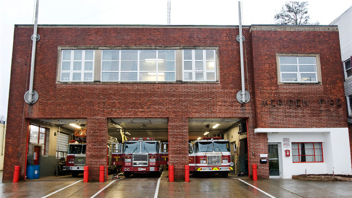Meriden's Pratt Street firehouse.  | Dave Zajac, Record-Journal