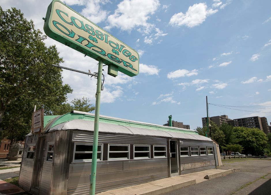 The former Cassidies Diner on West Main Street in Meriden, Friday, July 13, 2018. The landmark diner was recently sold and will be converted into a Japanese cuisine restaurant. Dave Zajac, Record-Journal