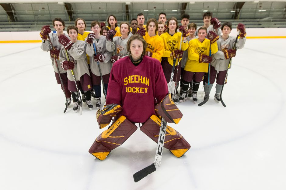 CIAC ICE HOCKEY: From the Wallingford Hawks to a homemade rink, Sheehan's Titans came of age together